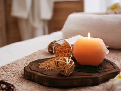 Taiji jubest candles massage oils