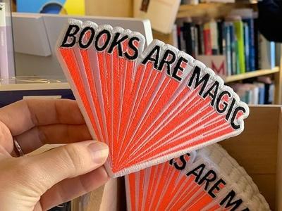 Books are magic internet talk