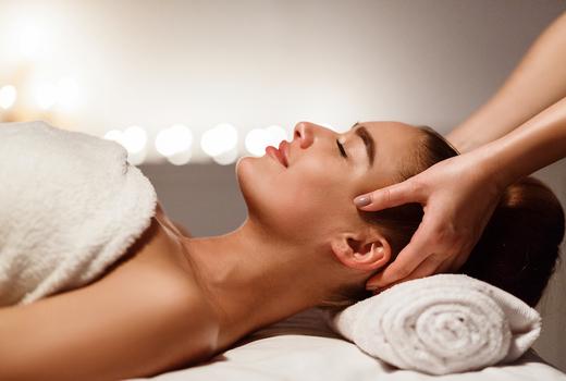 Skin station massage head restore