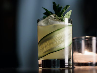 Mezcal cocktail legion