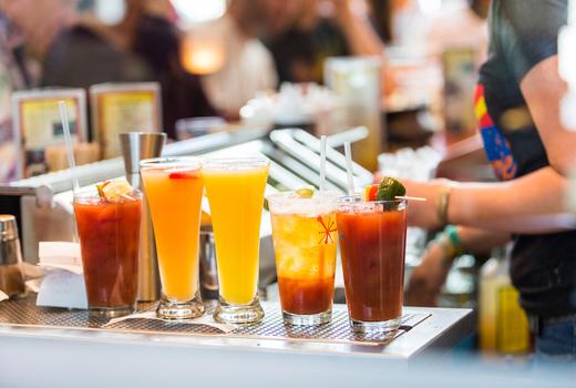 Stone creek drinks bloody marys mimosas