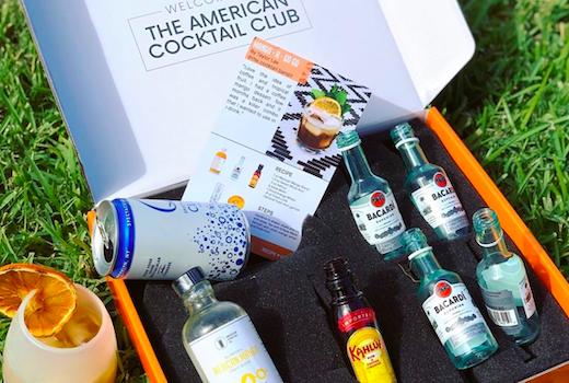 American cocktail club box