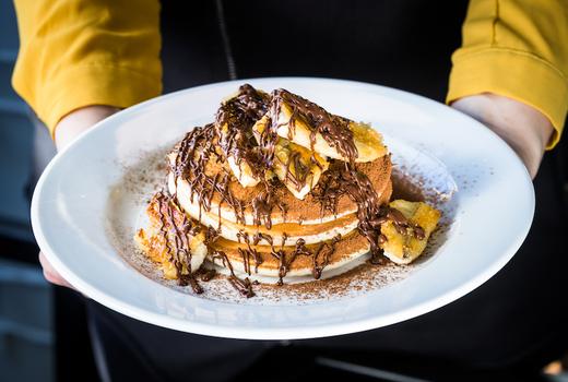 Grand canyon bistro brunch pancakes