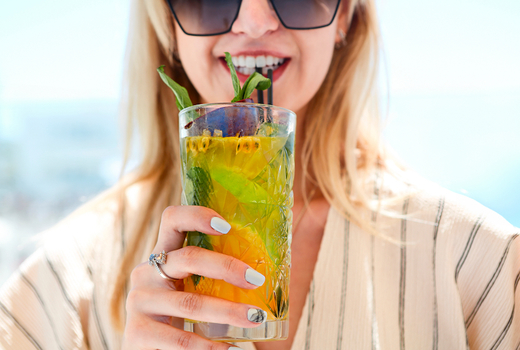 Mykonos cocktil experience drink up