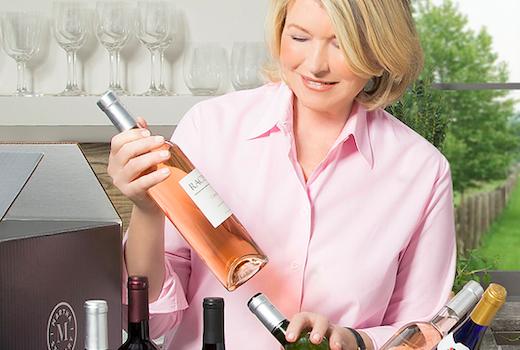 Martha stewart wine co martha queen