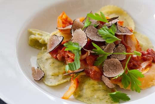 Segreta truffle ravioli
