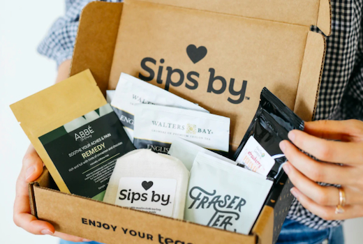 Sips by box hands love