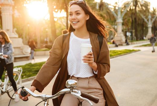 Juno coffee bike ride
