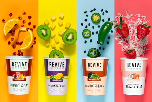 Revive lineup of smoothies