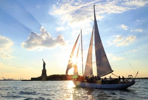 Manhattan by sail views love it