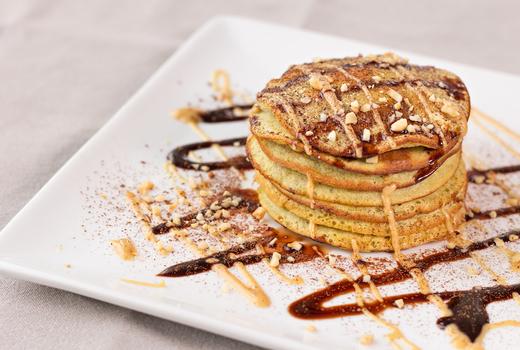Grotta azzurra pancakes