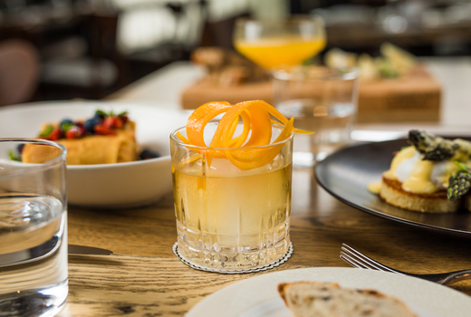 Badshah mimosas drinks