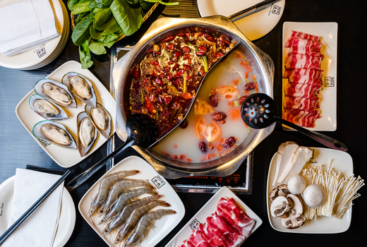 99 favor taste hotpot meats soup spread
