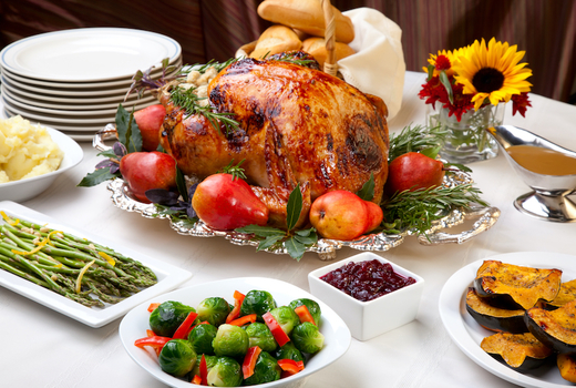 Lunellas thanksgiving dinner