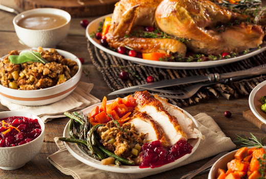 Bazaar thanksgiving eats love food